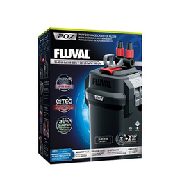 Aquaria Fluval 207 Performance Canister Filter, up to 220 L (45 US gal)