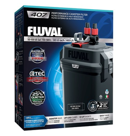 Aquaria Fluval 407 Performance Canister Filter, up to 500 L (100 US gal)