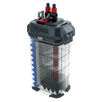 Aquaria (W) Fluval 407 Performance Canister Filter, up to 500 L (100 US gal)