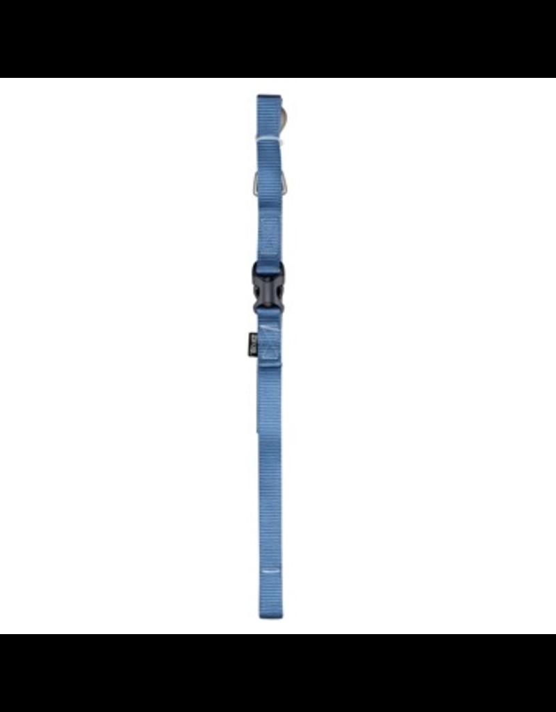 Dog & cat Zeus Nylon Leash - Denim Blue - Medium - 1.2 m (4 ft)