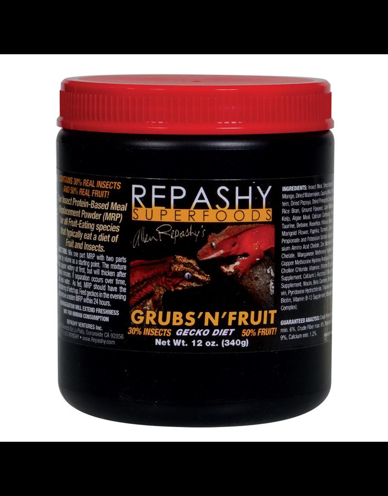 Reptiles (W) Repashy Grubs 'N' Fruit Gecko Diet - 12 oz