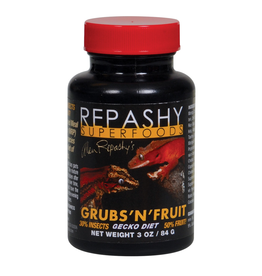 Reptiles Repashy Grubs 'N' Fruit Gecko Diet - 3 oz