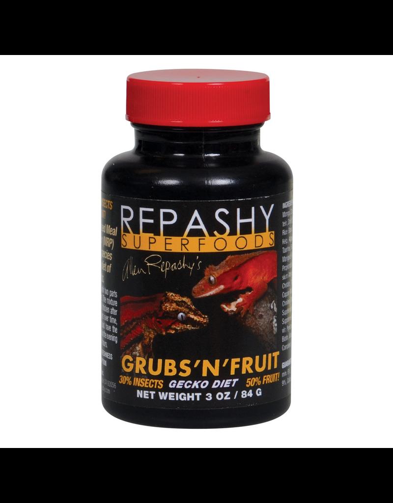 Reptiles Repashy Grubs 'N' Fruit Gecko Diet - 3 oz