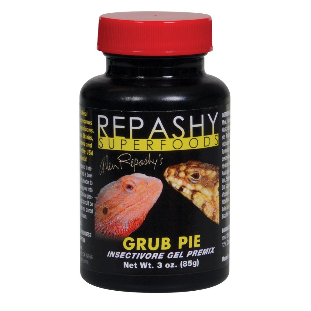 Reptiles (W) Repashy Grub Pie - Reptile - 3 oz