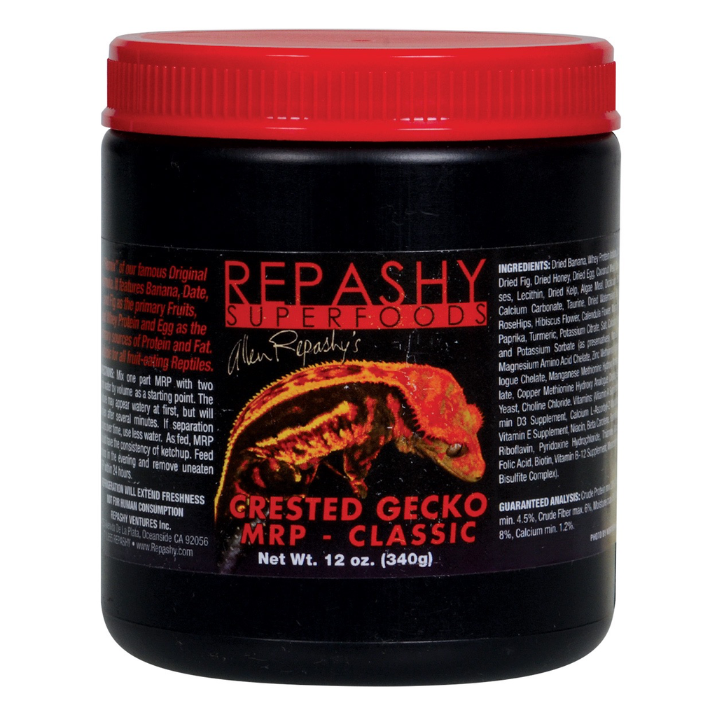 Reptiles (W) Repashy Crested Gecko MRP Classic Diet - 12 oz