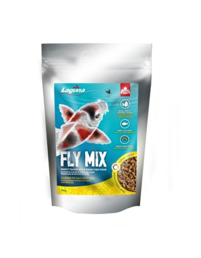 Aquaria Laguna Fly Mix Koi & Pond Fish Food - 750 g