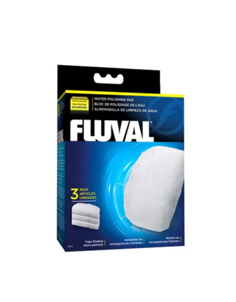 Aquaria (W) Fluval Polishing Pad for 104/105/106 and 204/205/206 - 3 pieces