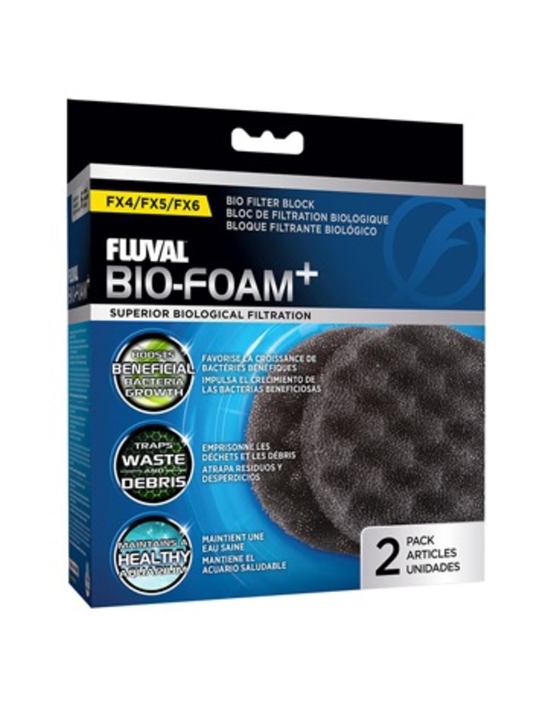 Aquaria (W) FL FX4/FX5/FX6 Bio-Foam Plus Filter Pads- 2 pack