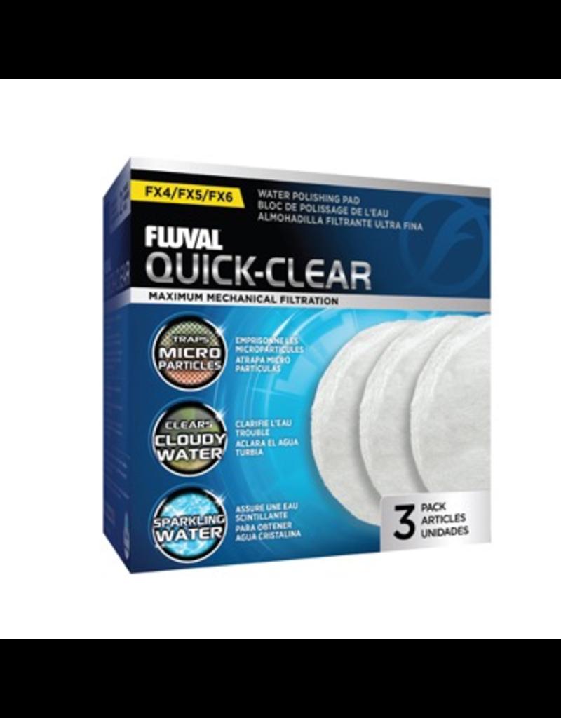 Aquaria (W) FL FX4/FX5/FX6 Quick-Clear Water Polishing Pads - 3 pack