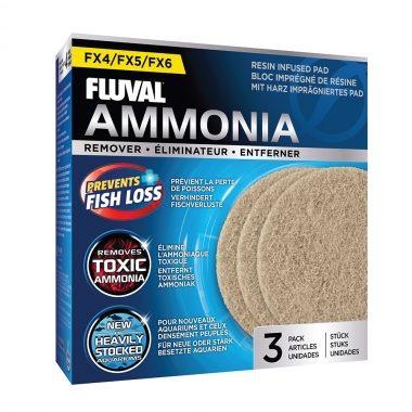 Aquaria (W) FL FX4/FX5/FX6 Ammonia Remover Pad, 3pcs