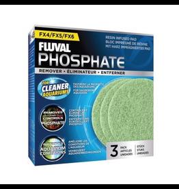 Aquaria (W) FL FX4/FX5/FX6 Phosphate Remover Pad, 3pcs