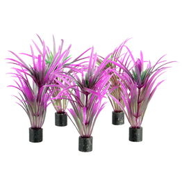 "Aquaria UT Mini Plant - Purple Grass - 3"" - 5 pk"