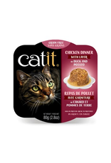 Dog & cat Catit Chicken Dinner with Duck & Potato - 80 g (2.8 oz)