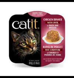 Dog & cat Catit Chicken Dinner with Duck & Potato - 80 g (2.8 oz)