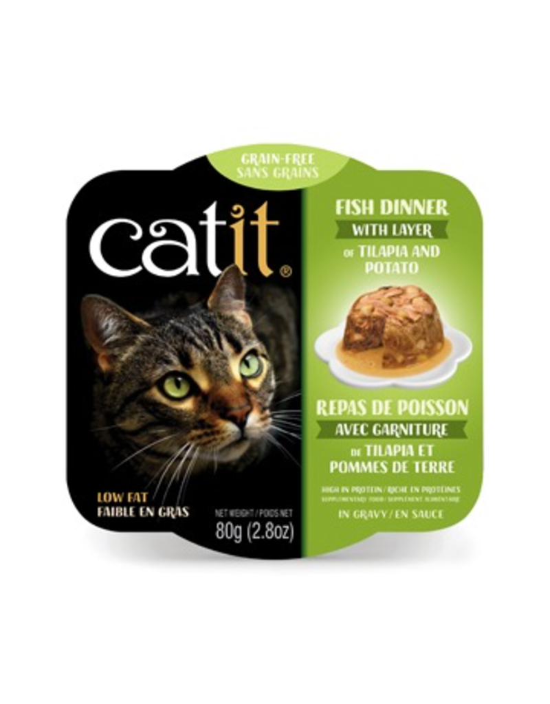 Dog & cat Catit Fish Dinner with Tilapia & Potato - 80 g (2.8 oz)