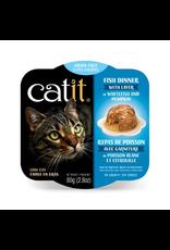 Dog & cat Catit Fish Dinner with Whitefish & Pumpkin - 80 g (2.8 oz)