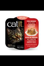 Dog & cat Catit Fish Dinner with Shrimp & Green Beans - 80 g (2.8 oz)