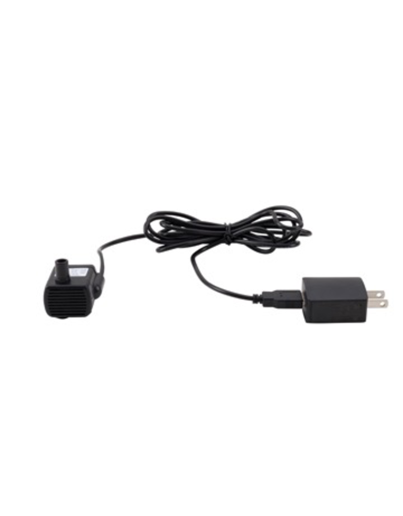 Dog & cat (W) Replacement USB Pump with electrical cord and USB adapter for Cat & Dog Drinking Fountains