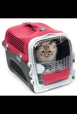 Dog & cat (W) Catit Cabrio Carrier - Cherry Red - 51 L x 33 W x 35 H cm (20 x 13 x 13.75 in)