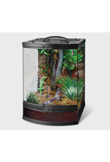 """Reptiles Zilla Front Opening Terrarium - Bow Front - 18"""" x 21"""" x 25"""""""