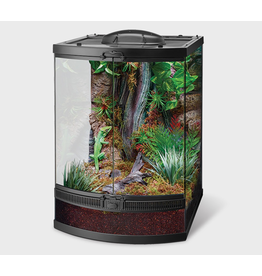 """Reptiles (W) Zilla Front Opening Terrarium - Bow Front - 18"""" x 21"""" x 25"""""""