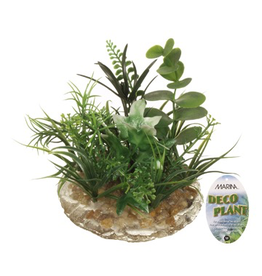 Aquaria (D) Marina Deco Plant, Small 3.5 in-V