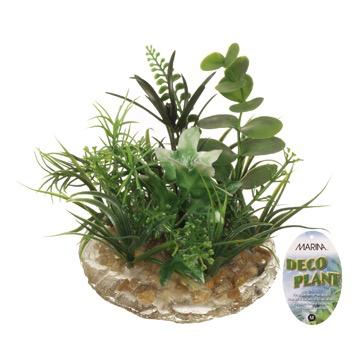 Aquaria (D) Marina Deco Plant, Small 3.5 in-V