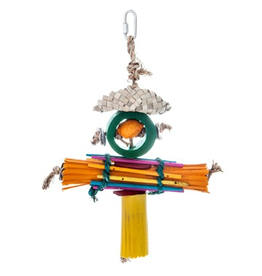 Bird (D) HARI Rustic Treasures Bird Toy Rasta Man - Large