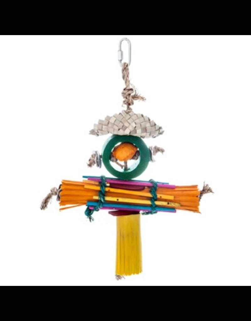 Bird (D) HARI Rustic Treasures Bird Toy Rasta Man - Large