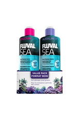 Aquaria (D) Fluval Sea Calcium/ Alkalinity, Value Pack, 473 mL