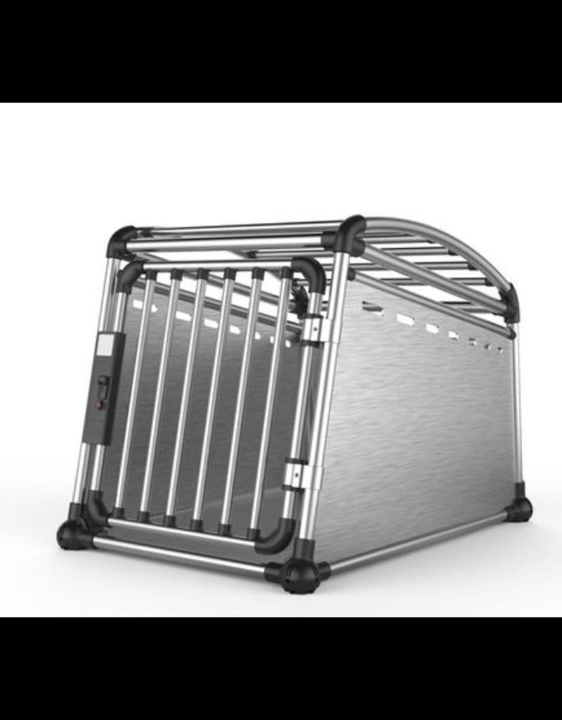 Dog & cat (D) AFP – Travel Dog - Aluminium Travel Crate – Medium - 21 x 25 x 30 in
