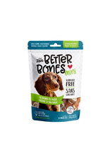 Dog & cat Zeus Better Bones - Almond Flavor - Chicken-Wrapped Mini Bones - 12 pack