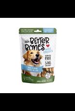 Dog & cat Zeus Better Bones - Milk Flavor - Chicken-Wrapped Twists - 10 pack
