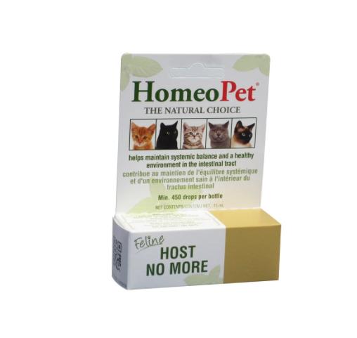 Dog & cat Homeopet Feline Host No More 15ml