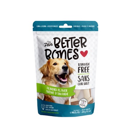 Dog & cat Zeus Better Bones - Almond Flavor - 4 pack