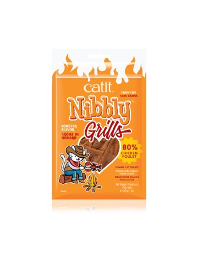 Dog & cat Catit Nibbly Grills Chicken and Lobster Flavour - 30 g (1 oz)