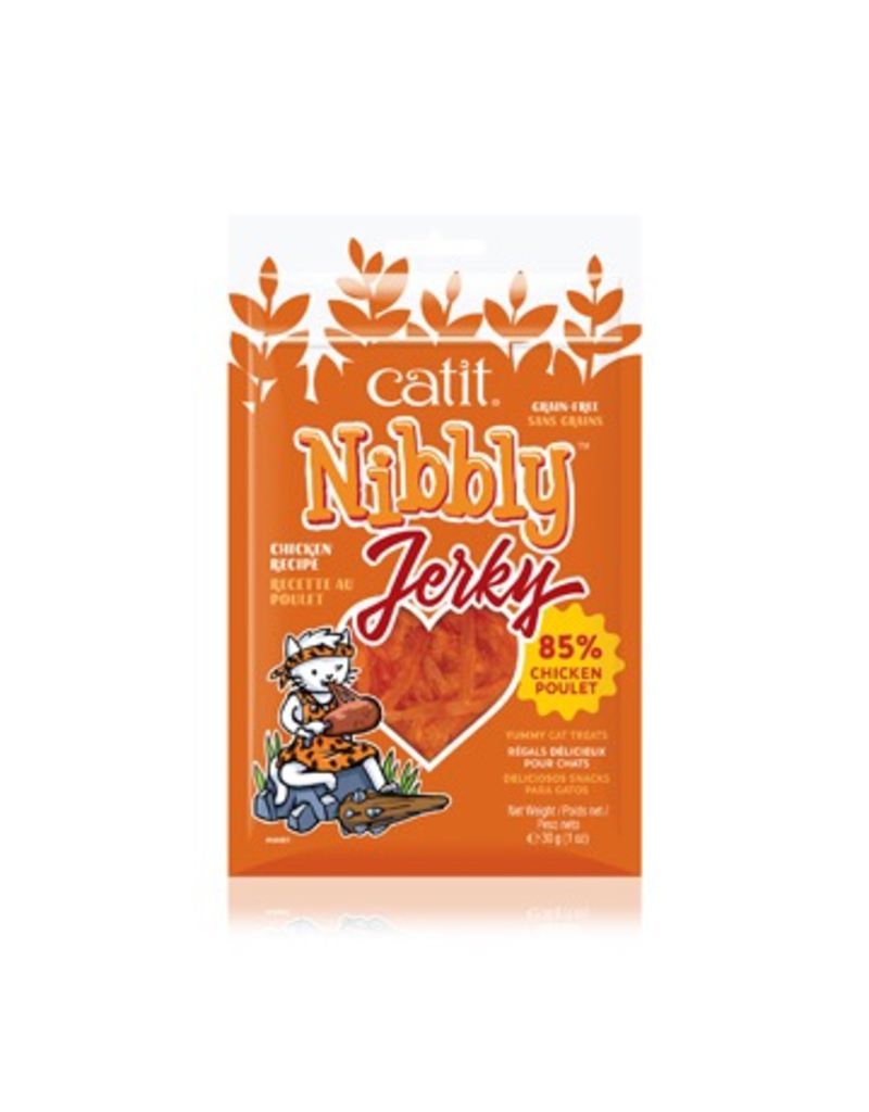 Dog & cat Catit Nibbly Jerky Chicken Recipe - 30 g (1 oz)