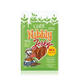 Dog & cat Catit Nibbly Jerky Chicken and Fish Recipe - 30 g (1 oz)