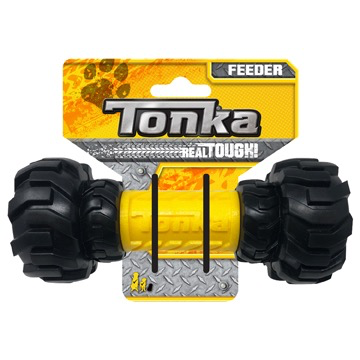 Dog & cat Tonka Axle Tread Feeder, 7""