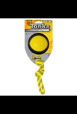 """Dog & cat (W) Tonka Diamond Clad Rope Ball, 4"""""""