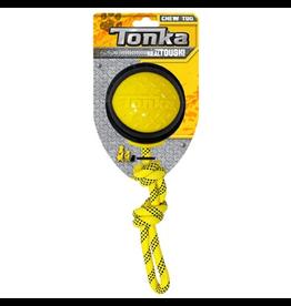 """Dog & cat Tonka Diamond Clad Rope Ball, 4"""""""