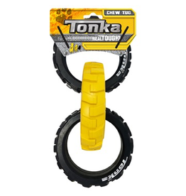 Dog & cat Tonka Flex Tread 3-Ring Tug, 10.5""