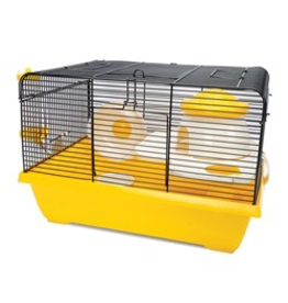 Small Animal Living World Dwarf Hamster Cage - Cottage - 42.5 cm L x 31 cm W x 28 cm H (16.7 x 12.2 x 11 in)