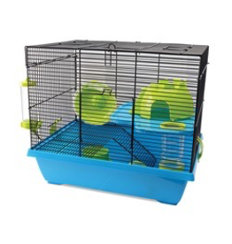 "Small Animal Living World Dwarf Hamster Cage, Pad, 42.5 x 31 x 37 cm (16.7 x 12.2 x 14.5"")"