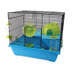 "Small Animal Living World Dwarf Hamster Cage, Pad, 42.5 x 31 x 37 cm (16.7 x 12.2 x 14.5"")"