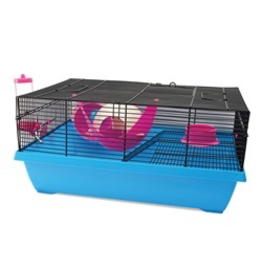 Dog & cat Living World Dwarf Hamster Cage - Hangout - 51 cm L x 36.5 cm W x 29 cm H (20 x 14.3 x 11.4 in)