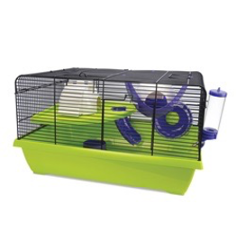 "Small Animal Living World Dwarf Hamster Cage, Resort, 51 x 36.5 x 29 cm (20 x 14.3 x 11.4"")"