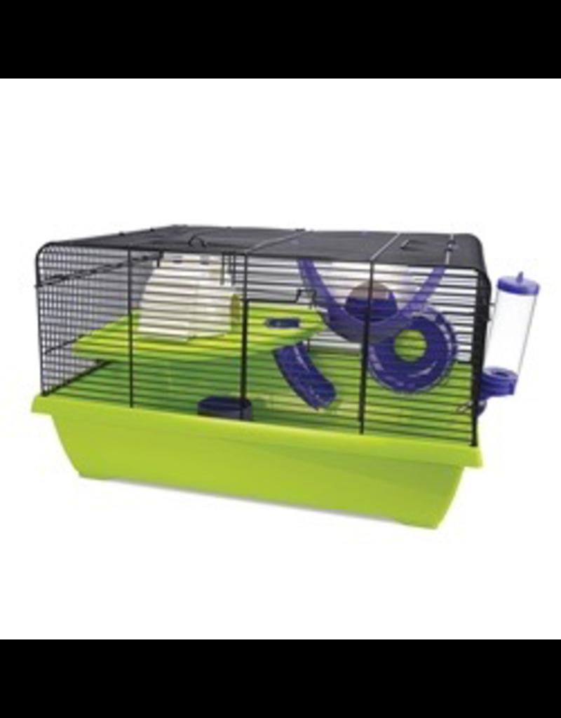 "Small Animal Living World Dwarf Hamster Cage, Resort, 51 x 36.5 x 29 cm (20 x 14.3 x 11.4"")"