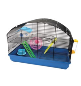 Small Animal Living World Dwarf Hamster Cage - Villa - 58 cm L x 32 cm W x 41 cm H (22.8 x 12.5 x 16.1 in)