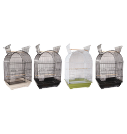 "Bird (W) AT Arch Open Top Bird Cage - 18"" x 14"" x 31"""